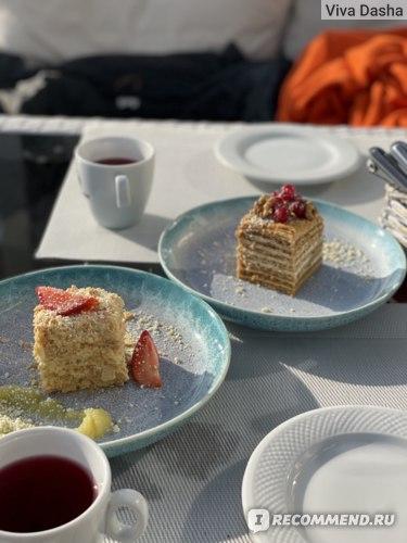 Ресторан Паруса Сочи еда отзыв