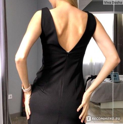 черное платье футляр с вайлдберриз
