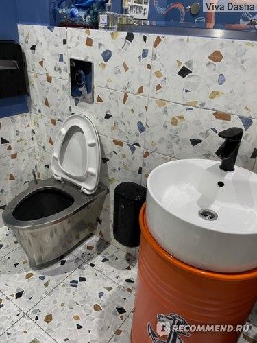 Туалет ресторан Паруса Сочи отзыв