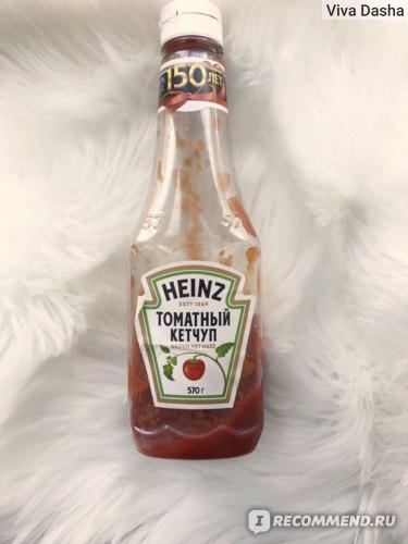 Кетчуп Heinz Томатный фото