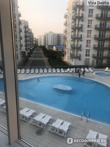 Отель Имеретинский 4 бассейн Сочи