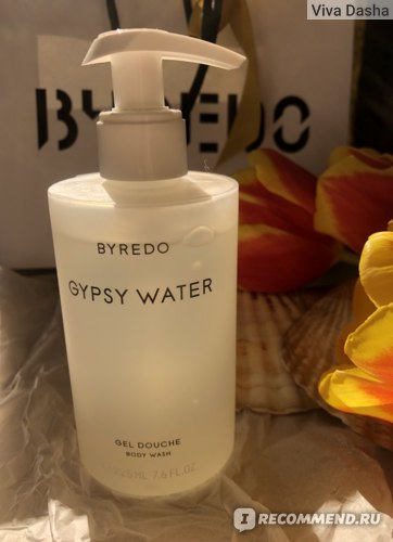 гель для душа Byredo Gypsy Water отзыв