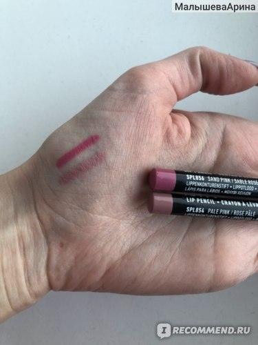 Карандаш для губ NYX Professional Makeup Slim lip pencil фото