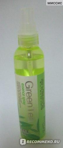 Парфюмированный спрей для тела Tinydeal 110ML Green Tea Essence Spray Moisture Skin Care Beauty Item HLC-223067 фото