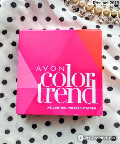 Пудра Avon Color Trend Контроль блеска Fair
