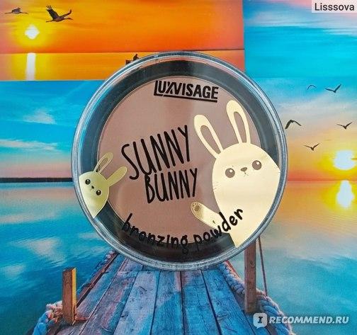 Пудра бронзатор LUXVISAGE Sunny Bunny фото