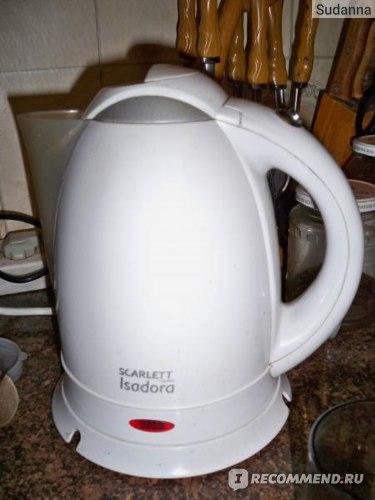 Чайник SCARLETT Isadora фото
