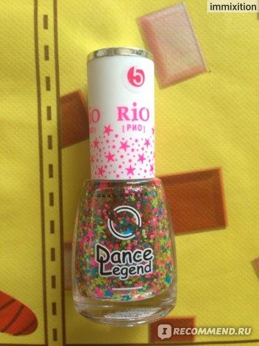 Лак для ногтей Dance legend Top RIO фото