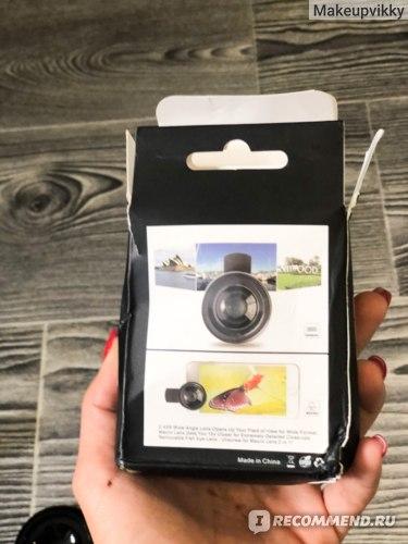 Объектив для телефона универсальный Aliexpress Apexel Phone Lens kit 0.45x Super Macro Lens HD Camera Lentes for iPhone 6S 7 Xiaomi more cellphone фото