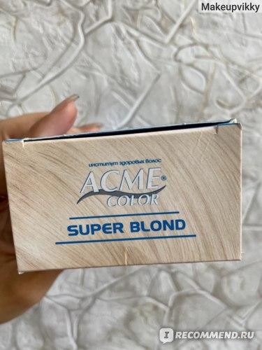 Осветлитель для волос Acme color Super Blond фото