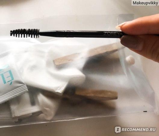 Щеточка-расческа для бровей и ресниц Zoreya Z-20 фото