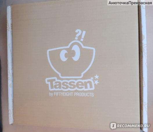 Чашка с блюдцем Tassen Поцелуй