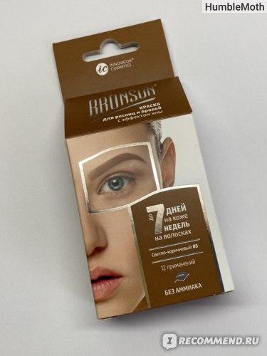 Краска для бровей и ресниц Innovator Cosmetics Bronsun фото