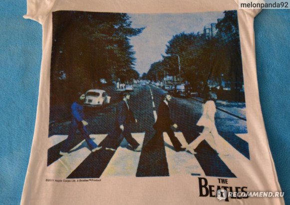 Футболка AliExpress Free shipping, the beatles classic design T-shirt in the summer of 2013 the beatles plus-size women's T-shirt фото