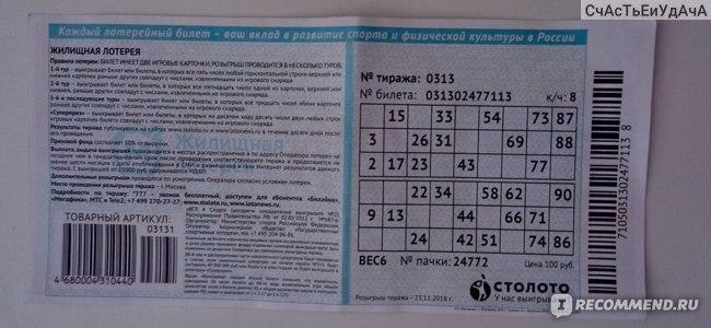 Государственная жилищная лотерея фото