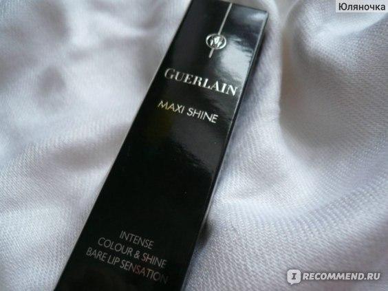 Блеск для губ Guerlain Gloss D'enfer Maxi Shine фото