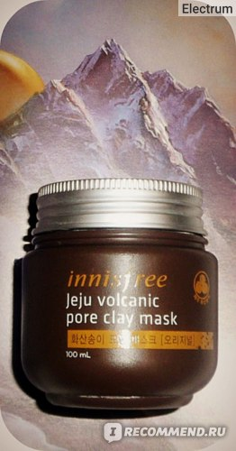 Маска для лица Innisfree   Jeju Volcanic Pore Clay Mask фото
