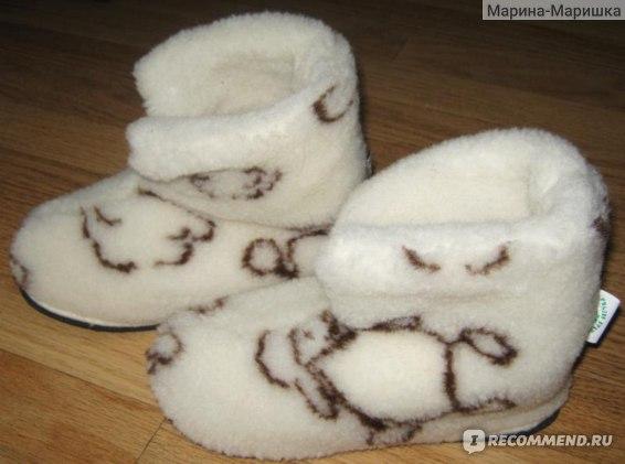 "Домашняя обувь Модная овечка ""Чуни"" фото"