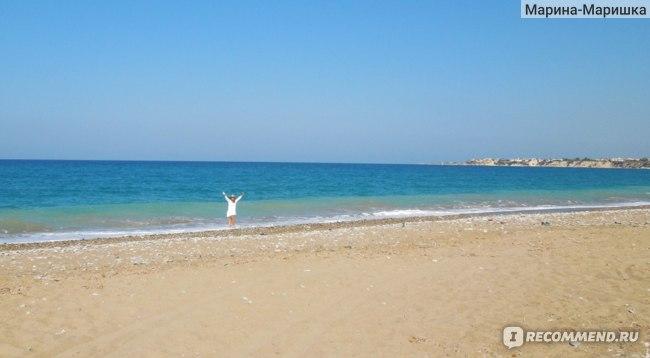 Один из диких пляжей