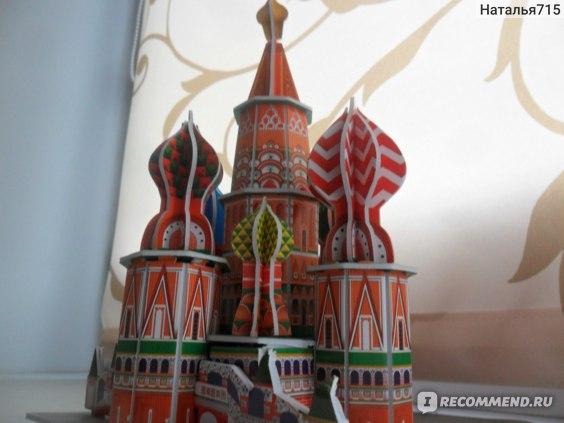 CubicFun 3d пазл Собор Василия Блаженного 46 деталей фото