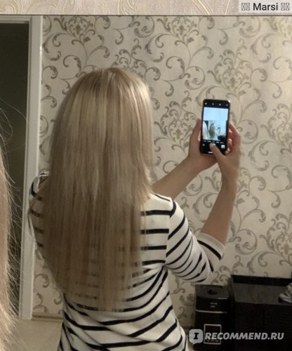 Обратное мытье волос - reverse washing фото
