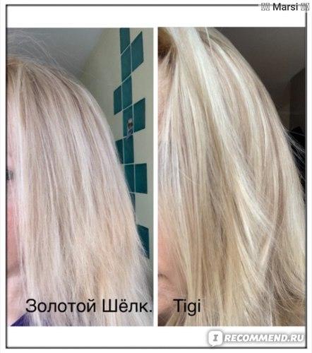 Бальзам для волос Золотой шелк с репейным маслом фото