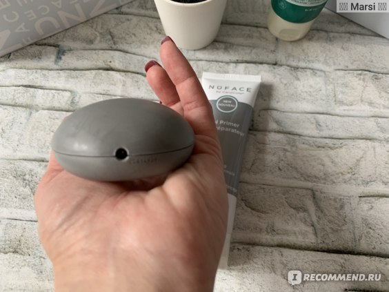 Аппарат для домашнего лифтинга с технологией микро-тока NUFACE MINI FACIAL TONING DEVICE фото