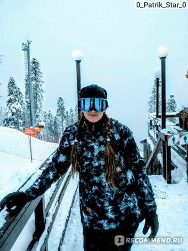 Анорак сноубордический DC SHOES SKYLINE TIE DYE фото