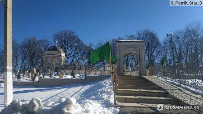 Кладбище в Чечне