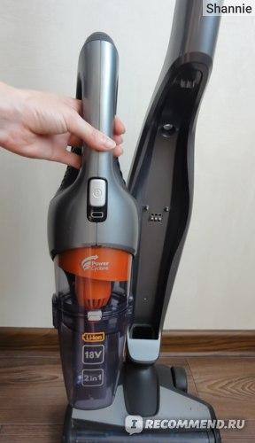 Ручной пылесос Philips PowerPro Duo