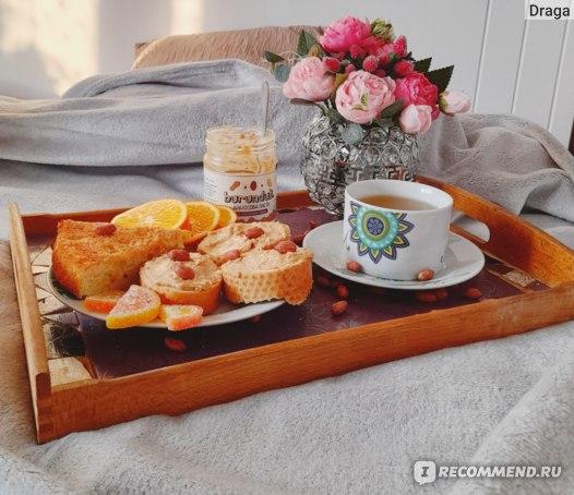Арахисовая паста Burunduk с кусочками орехов