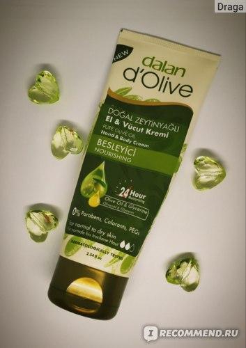 Крем для рук и тела Dalan d'Olive