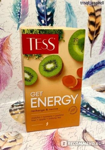 Чай в пакетиках Tess Get Energy