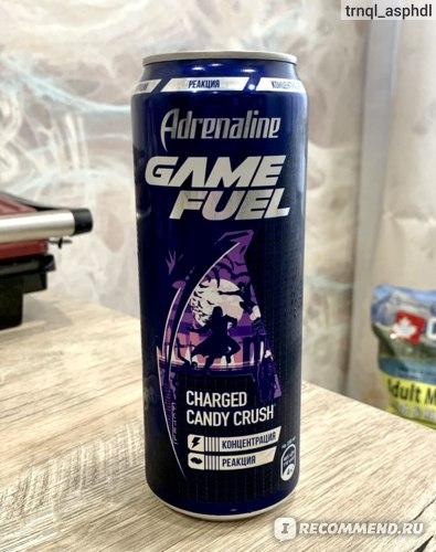 Энергетический напиток Adrenaline Rush Game Fuel