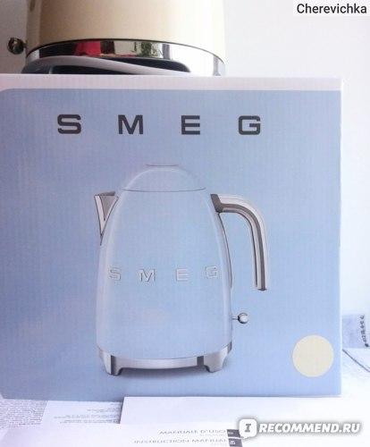 Электрический чайник SMEG KLF03 фото