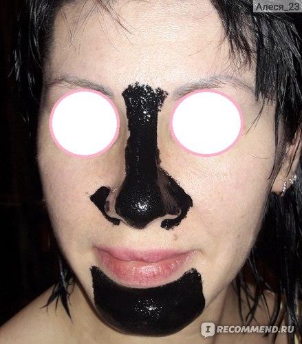 Маска-пленка от черных точек Aliexpress Hot Selling Pilaten Blackhead Remover+фото фото