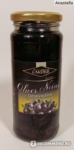 Маслины Cartier Без косточки Olives Noires Denoyautees фото