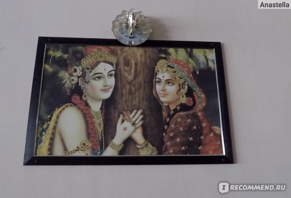 Картина на стене кафе