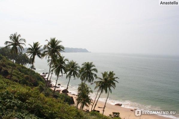 Пляж Paradise. Путешествуем на скутере по Гоа. Индия.
