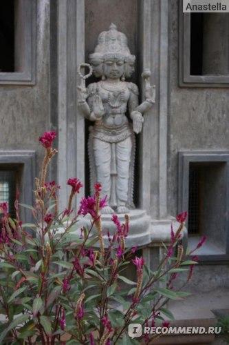 Украшение Храма. Индия. Гоа.