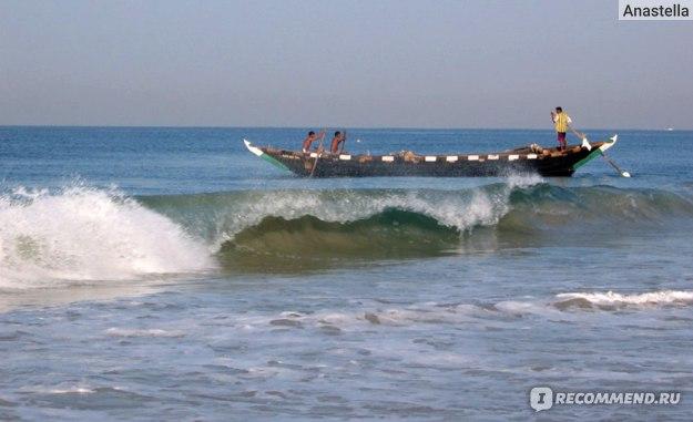 Рыбаки. Индийский океан. Гоа. Индия.