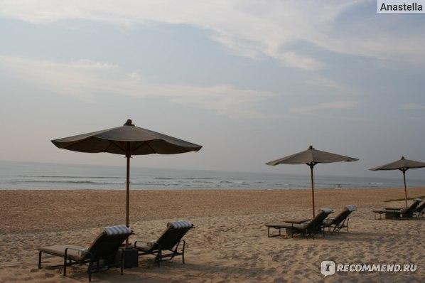 """Пляж около отеля """"The Leela"""" Goa 5* India"""