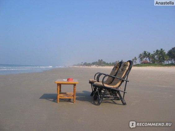Пляж Бенаулим. Гоа. Индия.