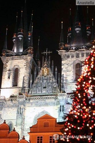 Новый Год в Праге.
