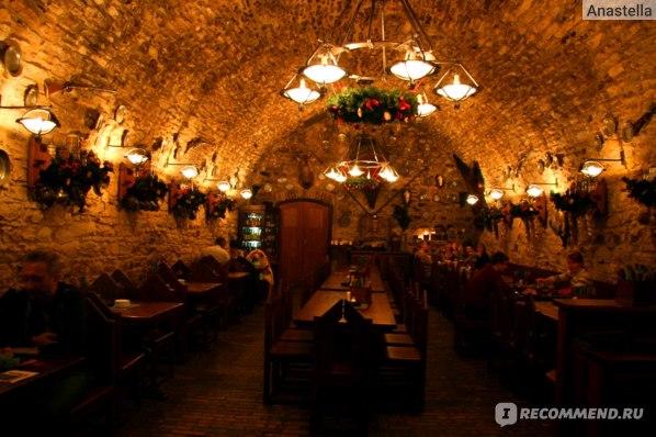 Пивной ресторан. Прага.