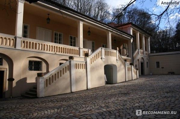 Вилла Бертрамка. Музей Моцарта. Прага.