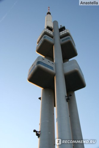 Телевизионная башня. Прага.