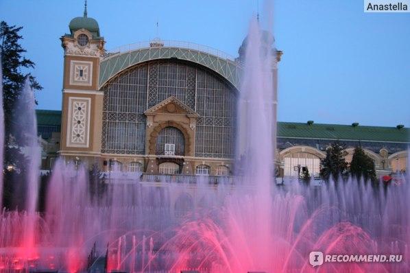 Поющие фонтаны. Прага.
