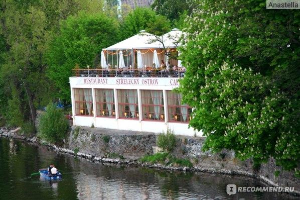 Ресторан на Стрелецком острове. Прага.