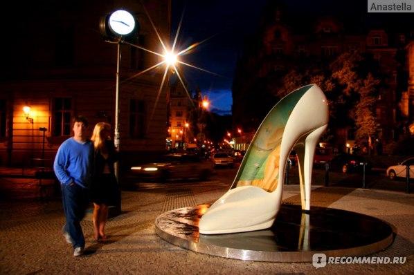 Туфелька для Золушки в Праге:)